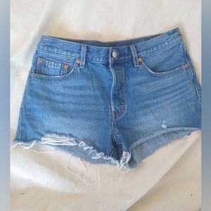 Levi's 501 cutoff shorts shorts new without tags
